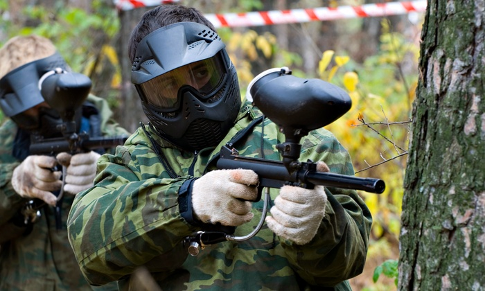 Maple Ridge Paintball - Maple Ridge: Paintball for One, Two, or Four with 100 Paintballs Per Person at Maple Ridge Paintball (Up to 53% Off)