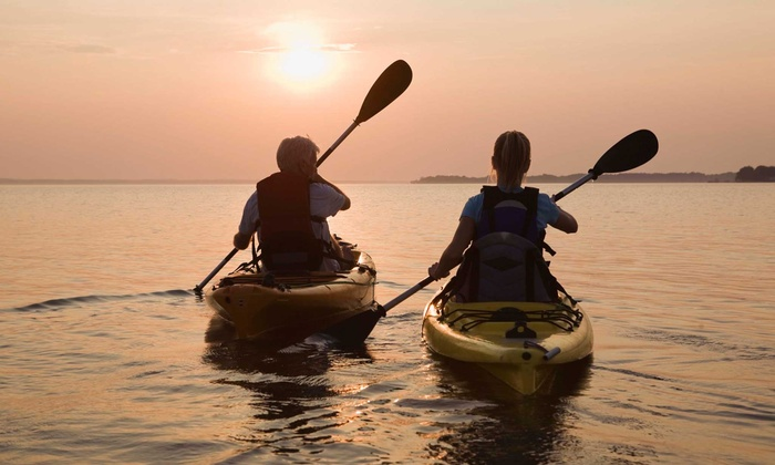 Texas Rowing Center - Old West Austin: 2-Hour Kayak or SUP Rental for 1, or 2-Hour Kayak or Canoe Rental for 2 or 4 at Texas Rowing Center (Up to 71% Off)
