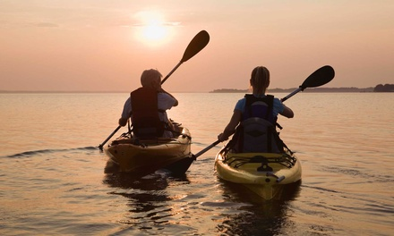 Two Hours of Kayak or Canoe Rental for Two or Four at Texas Rowing Center (Up to 71% Off)