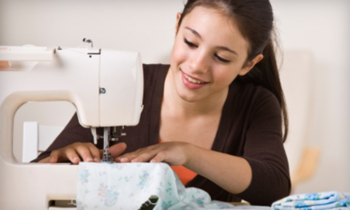 The Sewing Studio - Old Pasadena: One-, Three-, or Five-Day Kids' Sewing or Fashion Camp at The Sewing Studio (Up to 51% Off). Six Options Available.