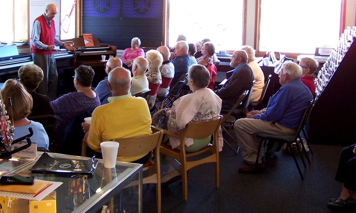 Piano And Organ Center - Clay: Six-Day Musical Instrument Course at Piano and Organ Center (50% Off)