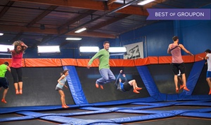Up to 41% Off Jump Passes or Party Package at Sky Zone, plus 6.0% Cash Back from Ebates.