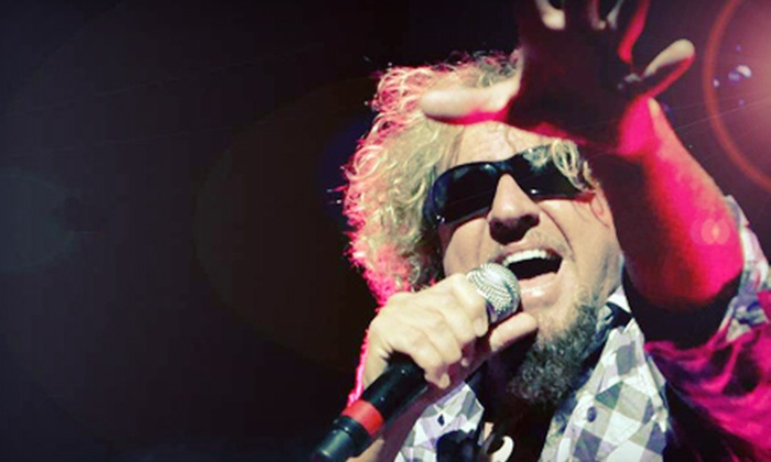 Sammy Hagar: Four Decades Of Rock With Michael Anthony - DTE Energy Music Theatre: $15 to See Sammy Hagar: Four Decades of Rock at DTE Energy Music Theatre on August 26 (Up to $25.45 Value)