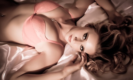 60-Minute Boudoir Photo Shoot with Optional Hairstyling at DeBoudoir (Up to 89% Off)