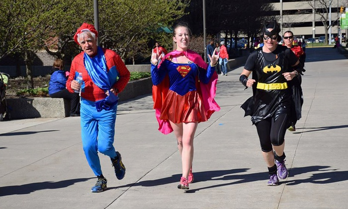 Superfly Running - Brook Run Park: Superhero-5K Entry for One or Two on October 12 (Up to 53% Off)