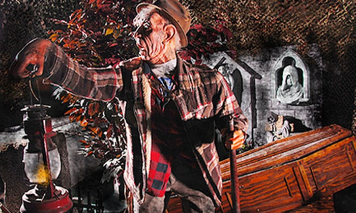 Asylum Xperiment Haunted House - Villa Park: $40 for a VIP Experience for Two at Asylum Xperiment Haunted House ($80 Value)