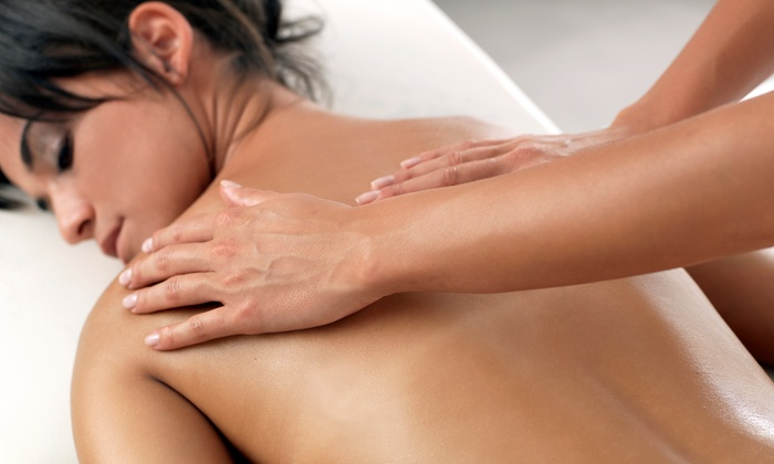 Blue Monarch Massage - Garden Ridge: $79 for 90-Minute Relaxation Massage Package with Glamour Glow Scrub for Back and Feet and $25 Gift Card ($160 Value)