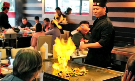 Chinese Food, Japanese Food, and Hibachi at Gourmet Garden (Up to 40% Off)
