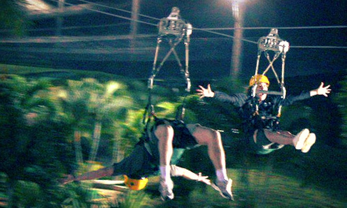 GoZip Pirate Cove - Needles: Two or Four Aerial-Adventure Rides at GoZip Pirate Cove (Up to Half Off)