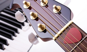 Guitar Cities: Two or Four 30-Minute Guitar, Bass, Ukulele, Drum, or Piano Lessons at Guitar Cities (Up to 59% Off)