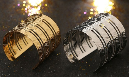 One, Two, or Three Gypsy Geometric Egyptian Goddess Cuffs from Novadab (Up to 81% Off)