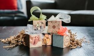 "2""x2"" Custom Wood Photo-block Ornaments From Photobarn"