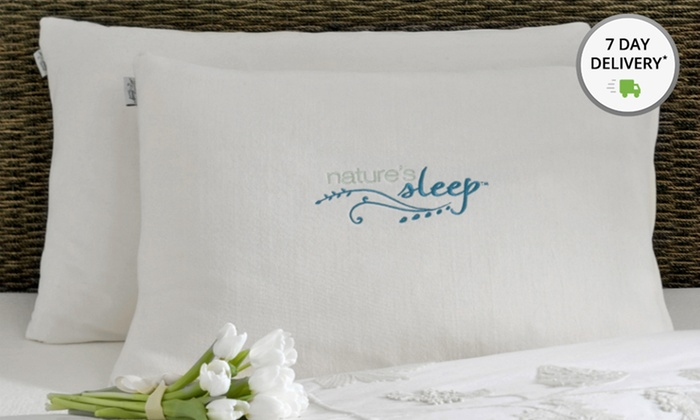 Nature's Sleep 2-Pack of Faux Down Pillows: Nature's Sleep 2-Pack of Faux Down Pillows