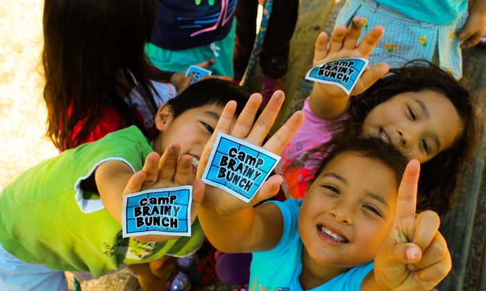 Camp Brainy Bunch - San Francisco: $90 for $200 Groupon Towards a Five-day Academic Camp — Camp Brainy Bunch