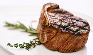 The Vintage Steakhouse: Four-Course Select-Menu Dinner for Two or Four at The Vintage Steakhouse (49% Off)