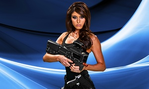 Hard Knocks - Tulsa: Six Laser-Tag Missions and a One-Year Membership for One or Two at Hard Knocks (Up to 49% Off)
