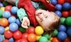 Cool Beans Playhouse - Troutman Park: One or Three Visits with Coffee or One Month of Unlimited Visits for Two Kids at Cool Beans Playhouse (Up to 56% Off)