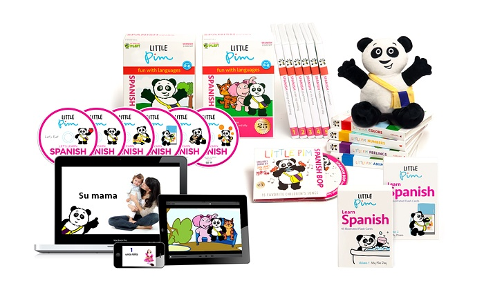 Little Pim: Kid's Language Learning Program from Little Pim (Up to 55% Off). Two Options Available.