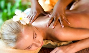 Rejuv Health Makeovers: 60-Minute Custom Massage with Option for 30-Min Sugar or Salt Scrub at Rejuv Health Makeovers (Up to 72% Off)