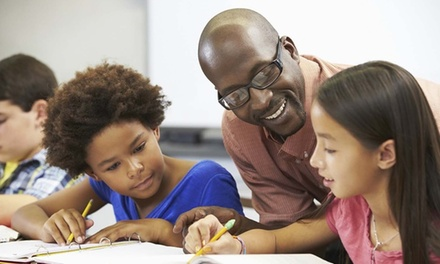 Sylvan Skills Student Tutoring Assessment, or One-Month Math Tutoring at Sylvan Learning Center (Up to 75% Off)