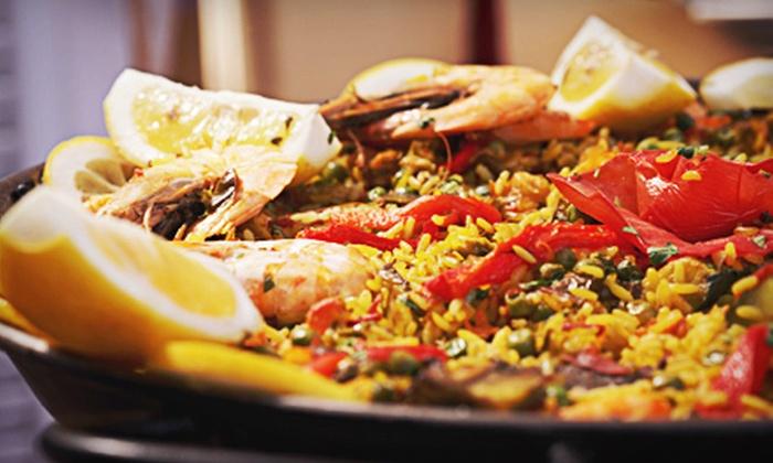 La Familia - Nasons Corner: Spanish and Latin Cuisine at La Familia (Up to 58% Off). Two Options Available.