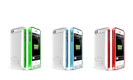 Prolix Power External Protective Battery Case for iPhone 5/5s. Multiple Colors Available.
