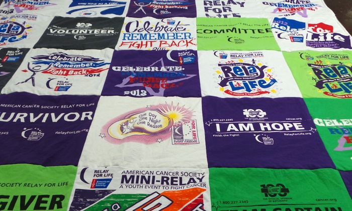 Project Repat -  Project Repat: One Boston Marathon Specialty T-Shirt or One Upcycled T-shirt Quilt at Project Repat (Up to 60% Off)