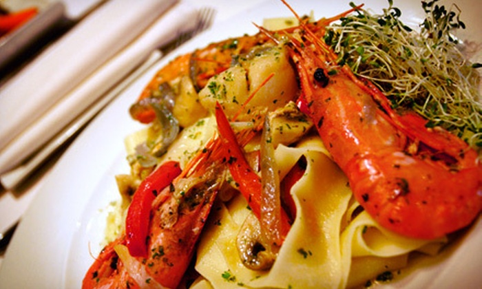 La Risata Ristorante - North York Industiral: Three-Course Italian Dinner for Two at La Risata Ristorante (Up to 56% Off). Two Options Available.