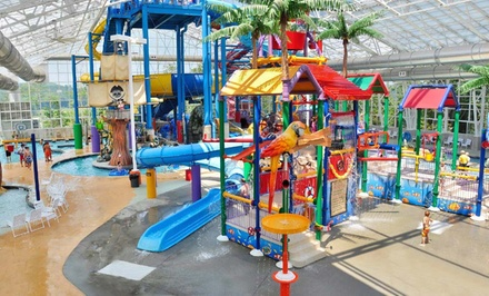 groupon daily deal - 1-Night Stay for Four with Water-Park Passes and Breakfast at Big Splash Adventure in French Lick, IN