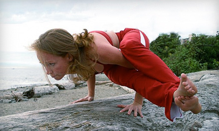 The Yoga Practice - Ambleside: $49 for 10 Yoga Classes at The Yoga Practice in West Vancouver ($156.25 Value)