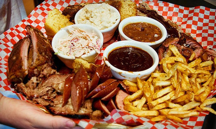 Memphis Blues Barbeque House - Central City: $10 for $20 Worth of Barbecue at Memphis Blues Barbeque House
