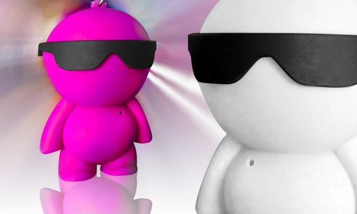 iHip Little Dude Robot Mini Speaker: iHip Little Dude Robot Mini Speaker.