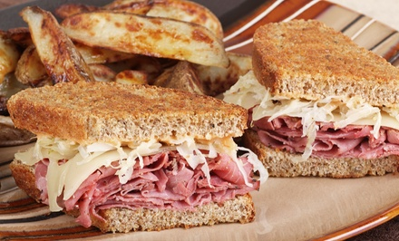 Deli Sandwiches and Entrees from Brooklyn's Deli & Catering (50% Off). Three Options Available.