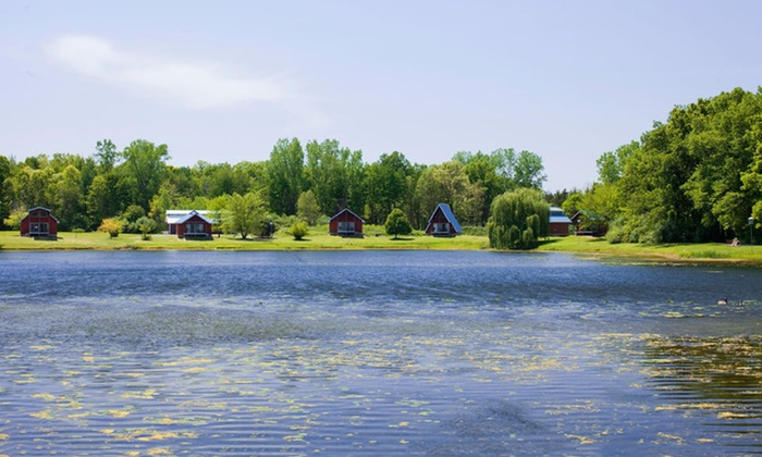 Serenity Springs - Springfield: Two-Night Stay in a Channel-Front Cabin at Serenity Springs in Laporte, IN