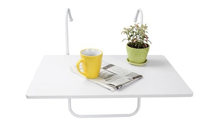 Mesa plegable para balc n groupon goods - Mesa plegable para balcon ...