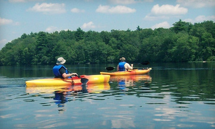 Norton Kayak Company - Norton: Three-Hour Kayaking Tour for Two or Four Thurs.–Sun. from Norton Kayak Company (Up to 55% Off)