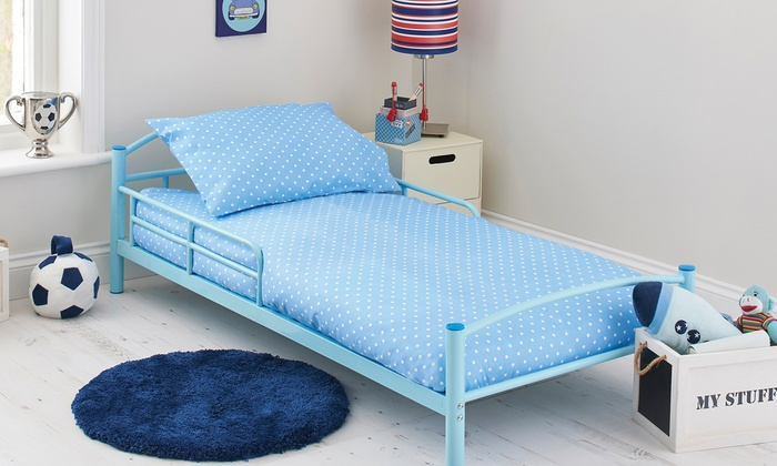 Kidsaw starter bed bundle groupon goods for Starter bed