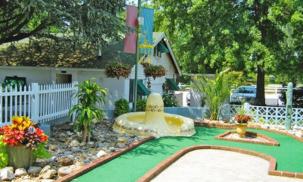 Mini Golf for Two or Four People at Pleasant Valley Miniature Golf (38% Off)