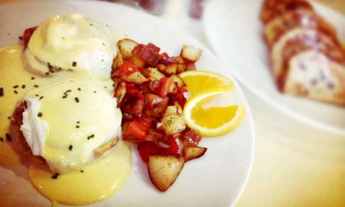 Golden Gate Grill - Downtown: Classic American Breakfast for Two or Four, or Lunch or Dinner for Two at Golden Gate Grill (Up to Half Off)