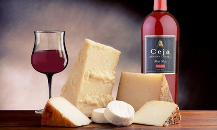 Ceja Vineyards - Cental Napa: $18 for a Wine-and-Cheese Tasting for Two at Ceja Vineyards ($36 Value)