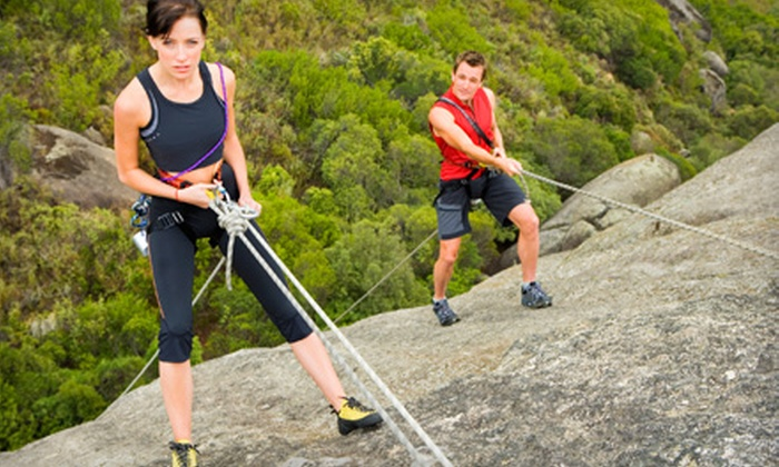 Kentucky Rock & Adventure Guides - Pine Ridge: Five-Hour Rock-Climbing Trip for One, Two, or Four from Kentucky Rock & Adventure Guides (Up to 73% Off)