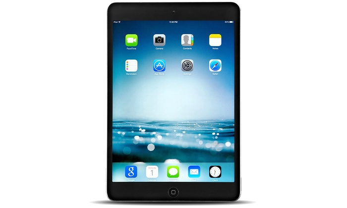 iPad mini 4 fits everything you love about iPad — a stunning Retina display, great cameras, and advanced wireless capabilities — in a smaller size.
