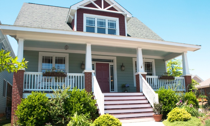 h2overhaul, LLC - Jacksonville: Pressure-Washing of a One- or Two-Story House from h2overhaul, LLC (Up to 58% Off)
