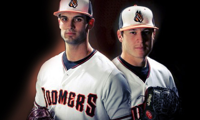 Schaumburg Boomers - Boomers Stadium: Schaumburg Boomers Game for Two or Four at Schaumburg Boomers Stadium (Up to 55% Off)