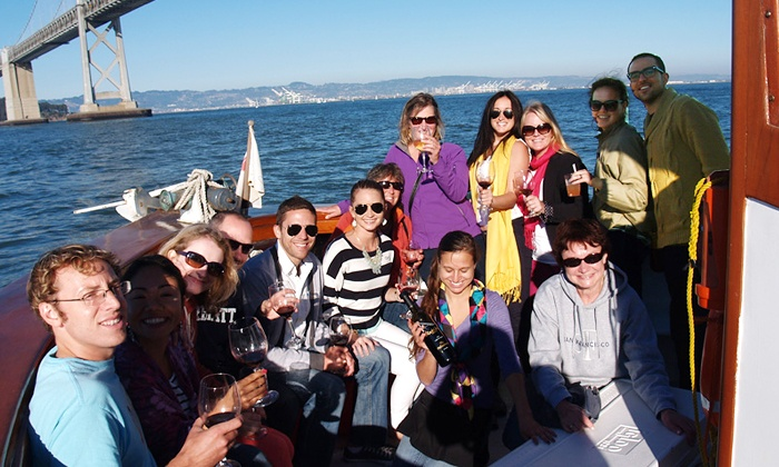 SF Experiences - Northern Waterfront: $79 for a San Francisco Winery Cruise from SF Experiences ($159 Value)