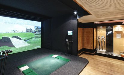 image for Two-Hour Golf Simulator Hire for Up to Four with Optional Five Beers at 5* Grange City Hotel (Up to 64% Off), Tower Hill