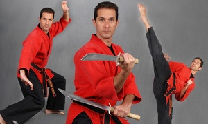 New Man's Karate: Martial Arts Classes for All Ages at New Man's Karate (Up to 71% Off). Two Options Available.