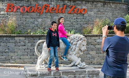 image for One Adult Admission or One Child/Senior Admission Ticket to Brookfield <strong>Zoo</strong> (Up to 28% Off)