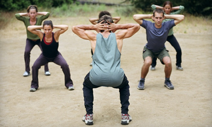 PowerFit Bootcamp - Multiple Locations: 10 or 20 Boot-Camp Classes from PowerFit Bootcamp (Up to 87% Off)