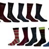 G Dress Men's Fashion Socks (12-Pack)